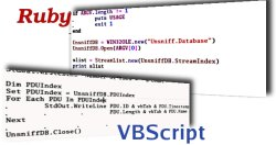Ruby and VBScript